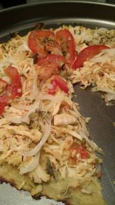 pizza couve flor